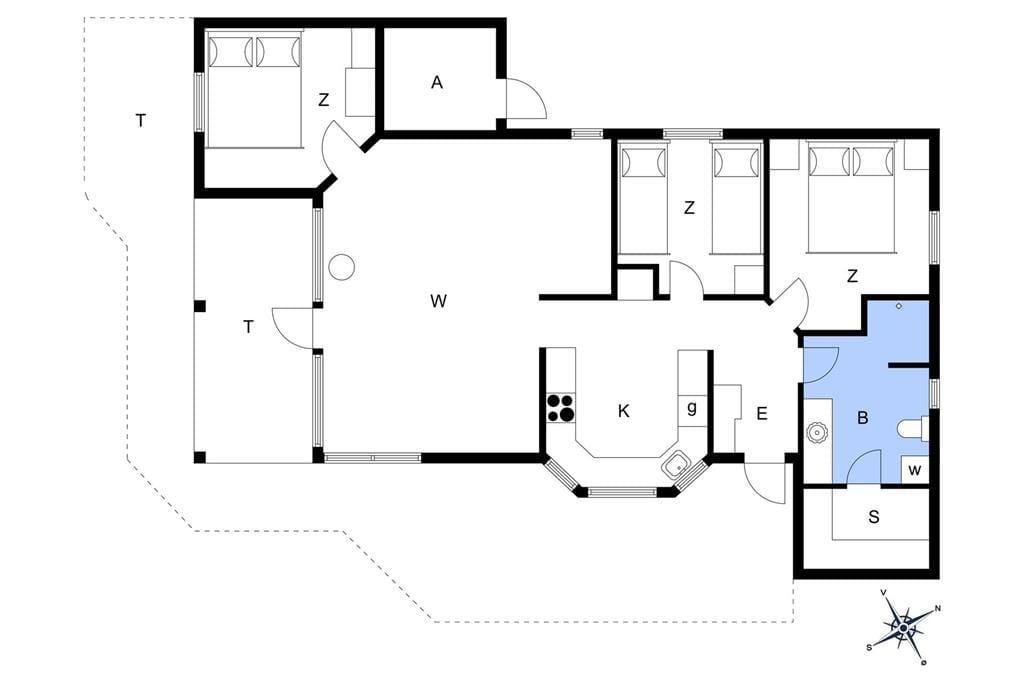 Innenausstattung 1-13 Ferienhaus 248, Mølgaardsvej 28, DK - 7700 Thisted