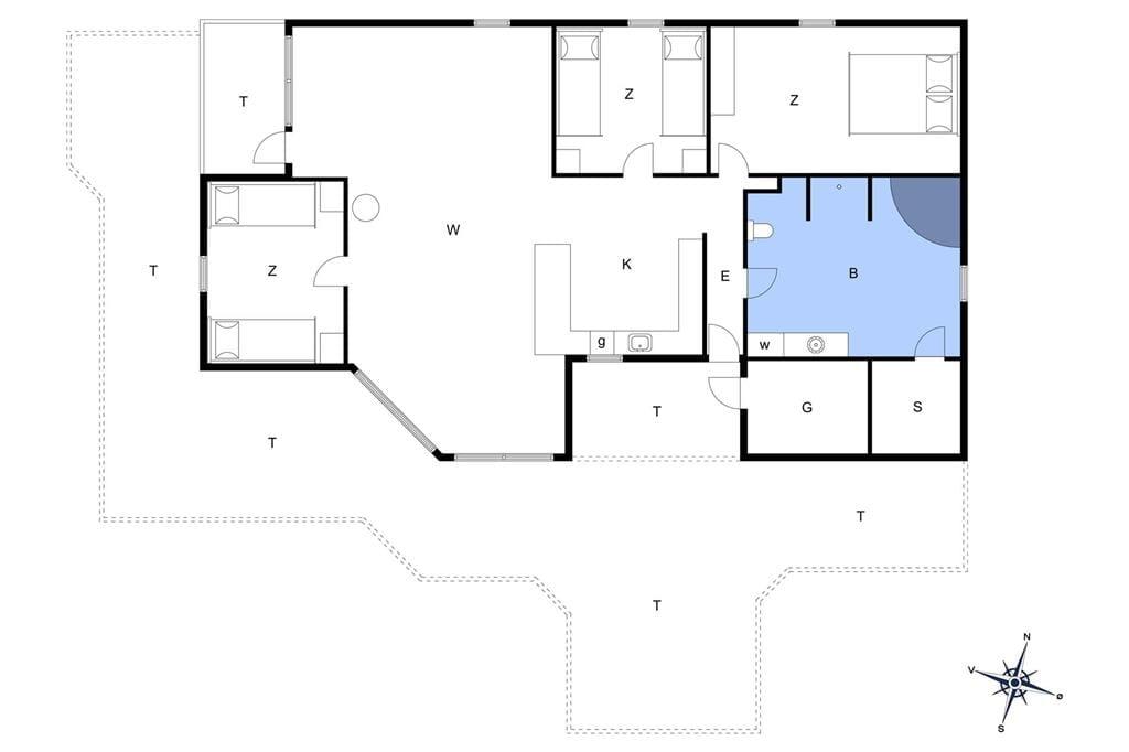 Interieur 1-14 Vakantiehuis 368, Bag Højen 19, DK - 9492 Blokhus