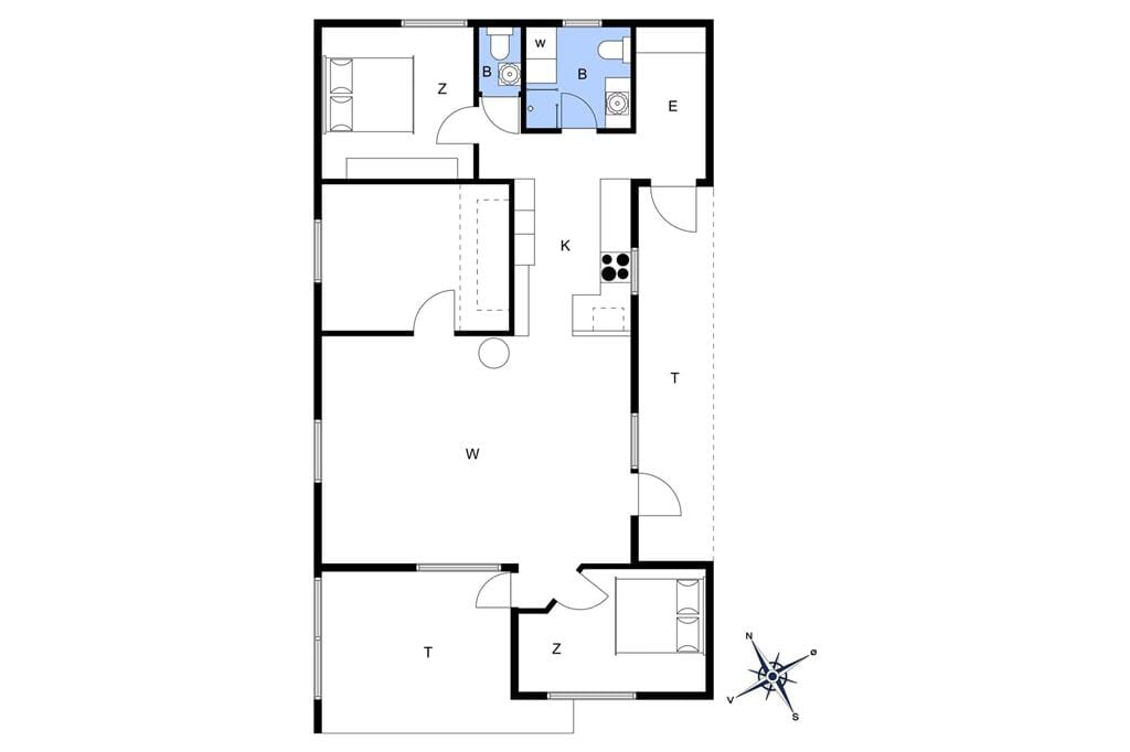 Innenausstattung 1-174 Ferienhaus M17017, Tornbladvej 19, DK - 4873 Væggerløse