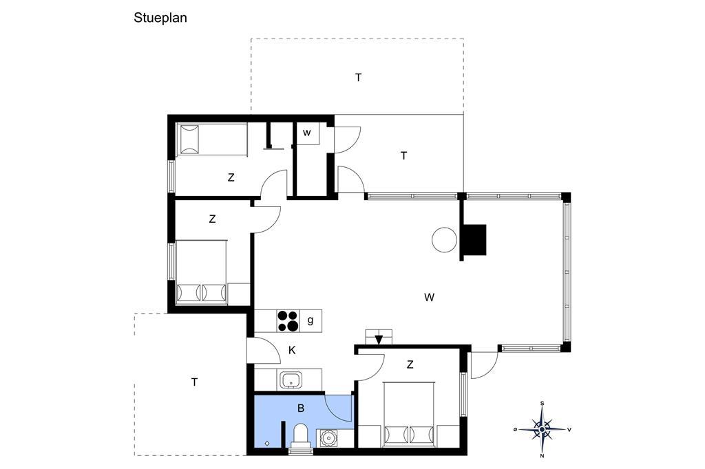 Innenausstattung 1-177 Ferienhaus LK1557, Karinavej 1, DK - 9480 Løkken
