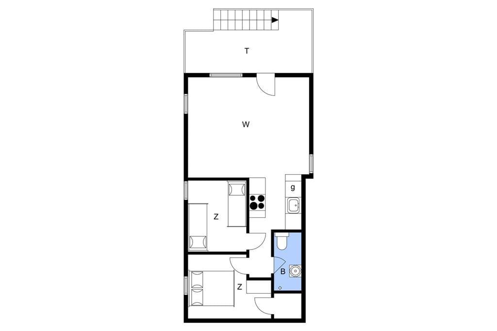 Innenausstattung 1-10 Ferienhaus 6784, Nordre Strandvej 127, DK - 3770 Allinge