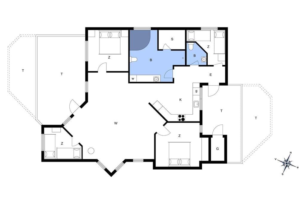 Indretning 1-13 Sommerhus 550, Ingersvej 20, DK - 7770 Vestervig