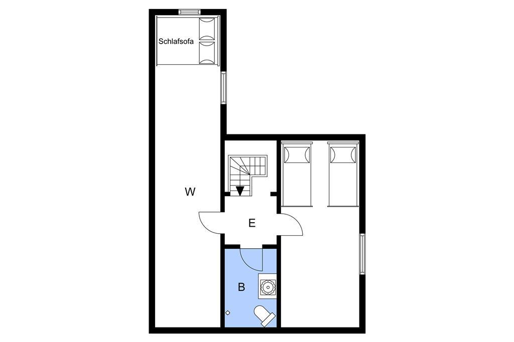 Indretning 1-3 Sommerhus M64217, Gl Landevej 7, DK - 5500 Middelfart