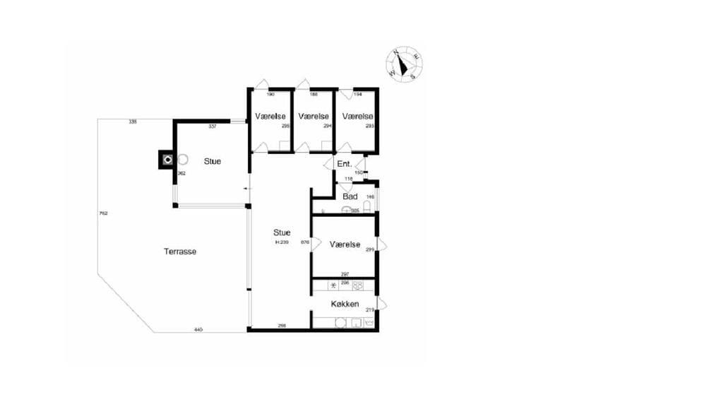 Indretning 1-26 Sommerhus K20066, Østre Egevej 12, DK - 4480 Store Fuglede