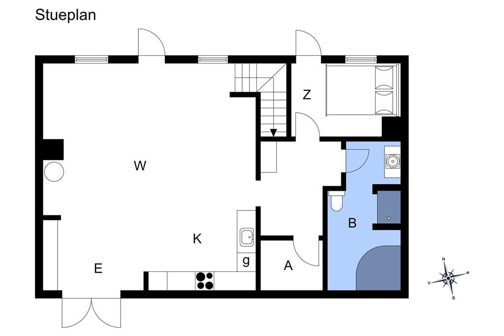 Innenausstattung 1-17 Ferienhaus 11835, Klint Havnevej 13, DK - 4500 Nykøbing Sj