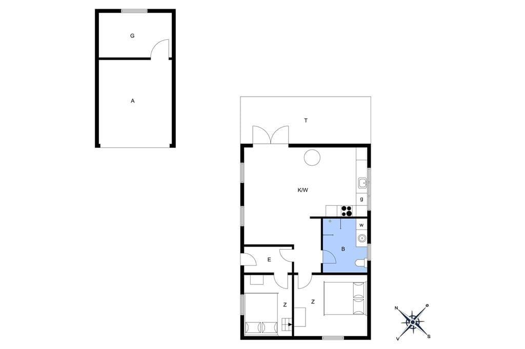Innenausstattung 1-19 Ferienhaus 30118, Pouli Nielsensvej 27, DK - 8300 Odder