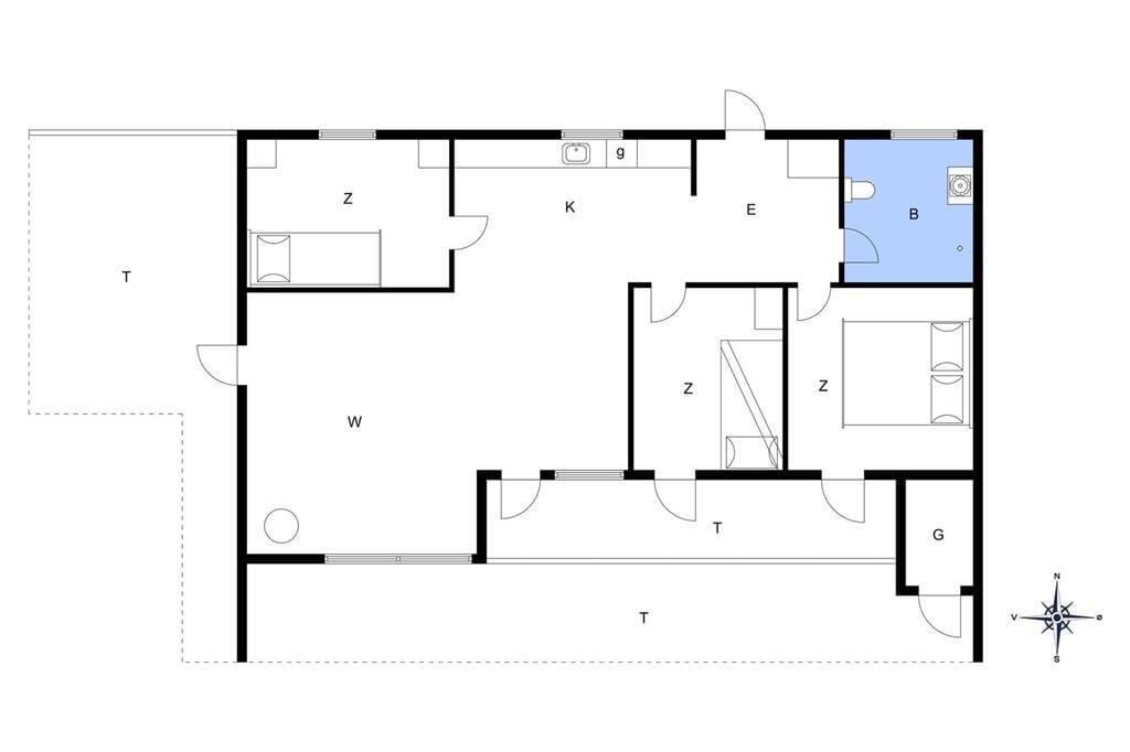 Interieur 1-148 Vakantiehuis TV1053, Havtornvej 2, DK - 9881 Bindslev