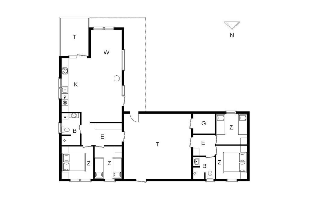 Innenausstattung 1-176 Ferienhaus BL117, Marsvinet 30, DK - 9490 Pandrup