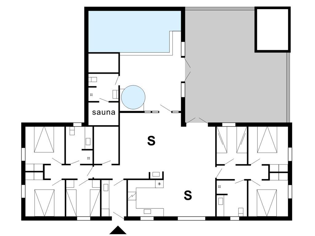Interieur 1-175 Vakantiehuis 60601, Sdr. Fjandvej 18, DK - 6990 Ulfborg
