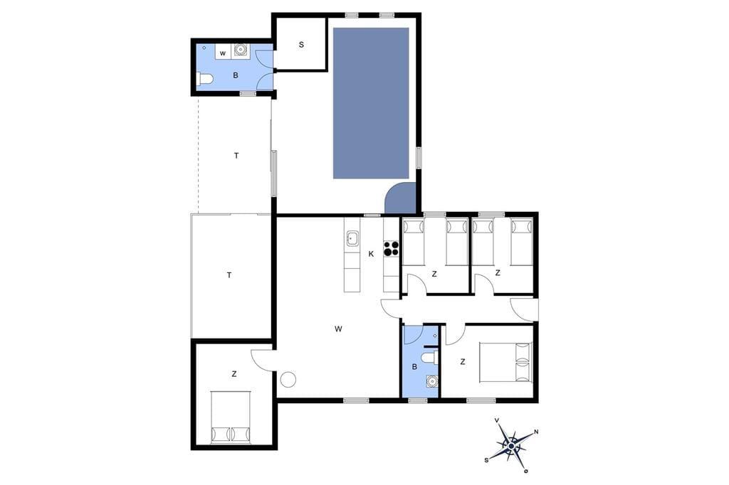 Innenausstattung 1-3 Ferienhaus L16122, Kærneøksevej 13, DK - 9640 Farsø