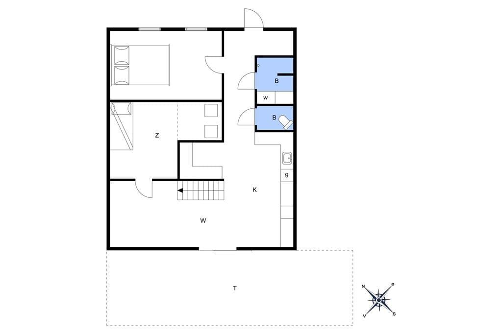 Indretning 1-10 Sommerhus 2641, Egernvej 18, DK - 3730 Nexø