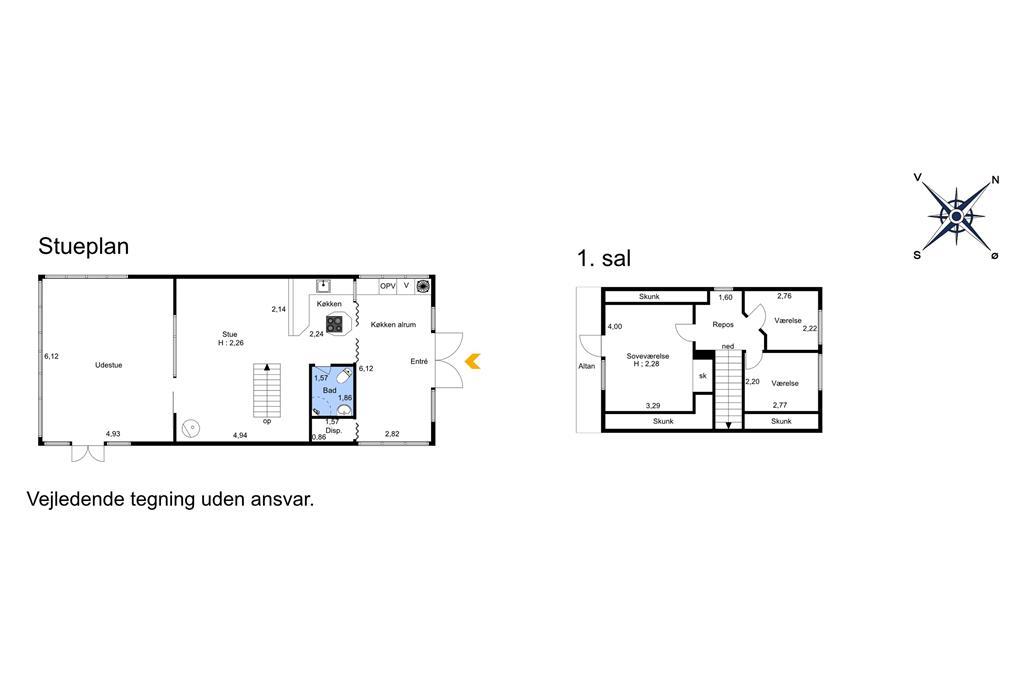 Innenausstattung 1-401 Ferienhaus OH309, Halvrebene 145, DK - 9560 Hadsund