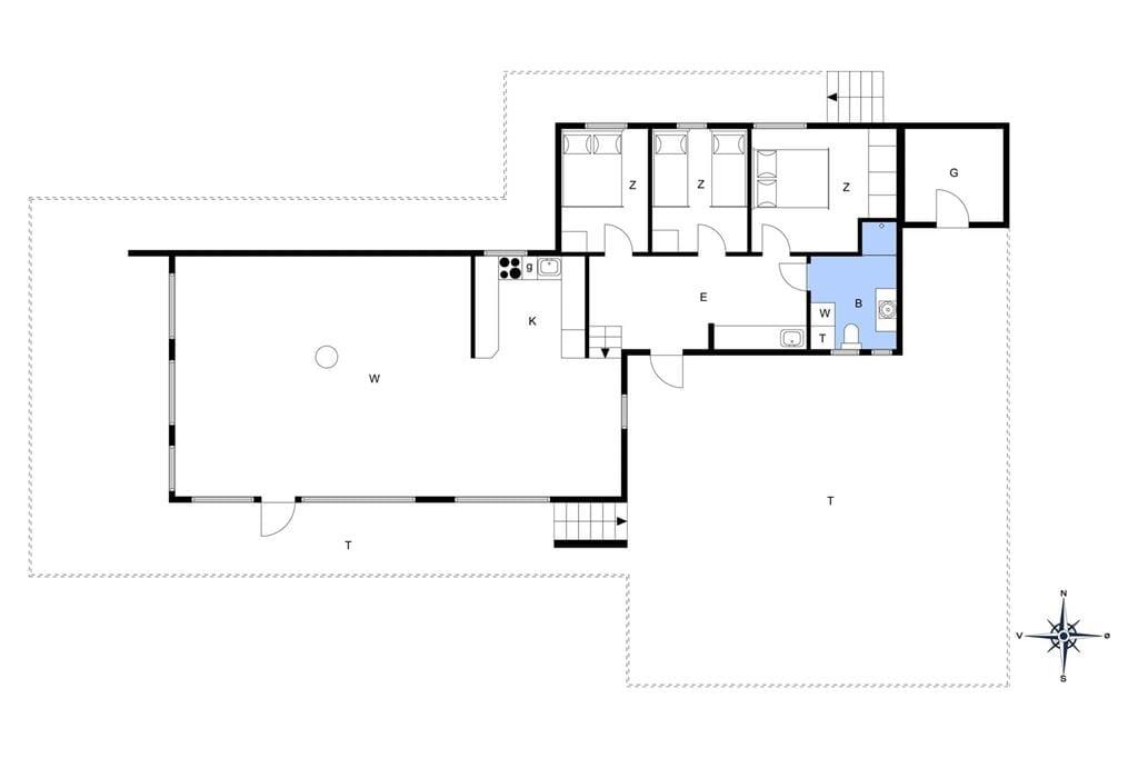 Interieur 1-14 Vakantiehuis 157, Ruthsvej 15, DK - 9480 Løkken