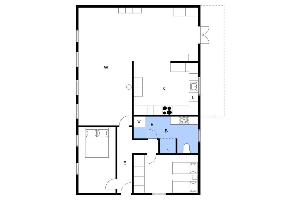 Innenausstattung 1-3 Ferienhaus M63017, Sanderumvej 47, DK - 5250 Odense SV