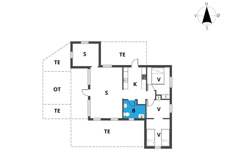 Interior 1-19 Holiday-home 30168, Pouli Nielsensvej 3, DK - 8300 Odder
