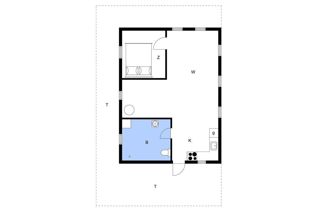 Innenausstattung 1-11 Ferienhaus 0092, Lakolk 92, DK - 6792 Rømø