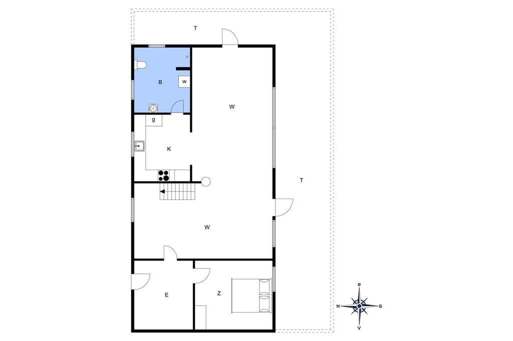 Indretning 1-14 Sommerhus 460, Fyrregangen 13, DK - 9490 Pandrup