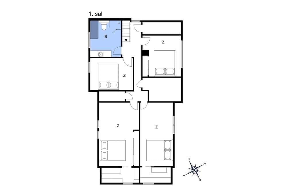 Interior 1-10 Holiday-home 4750, Frydenlundsvej 14, DK - 3700 Rønne