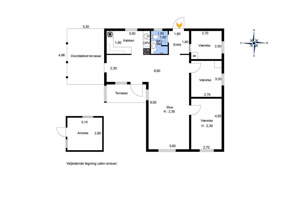 Innenausstattung 1-174 Ferienhaus M17006, Snepudevej 9, DK - 4873 Væggerløse