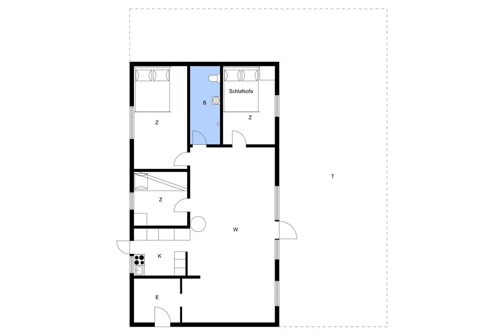 Interieur 1-23 Vakantiehuis 8437, Skovmårvej 16, DK - 8400 Ebeltoft