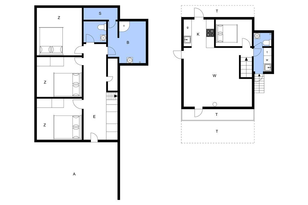 Indretning 1-23 Sommerhus 8406, Fyrreskrænten 12, DK - 8400 Ebeltoft