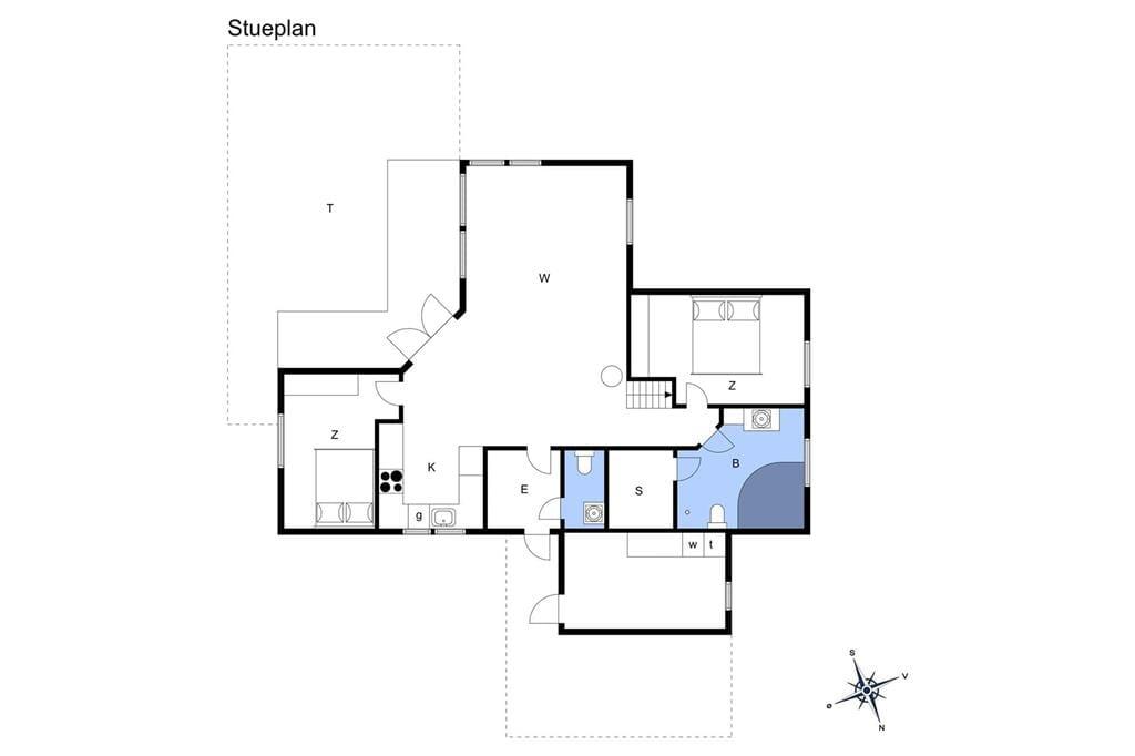 Interieur 1-13 Vakantiehuis 363, Tunvej 3, DK - 7700 Thisted