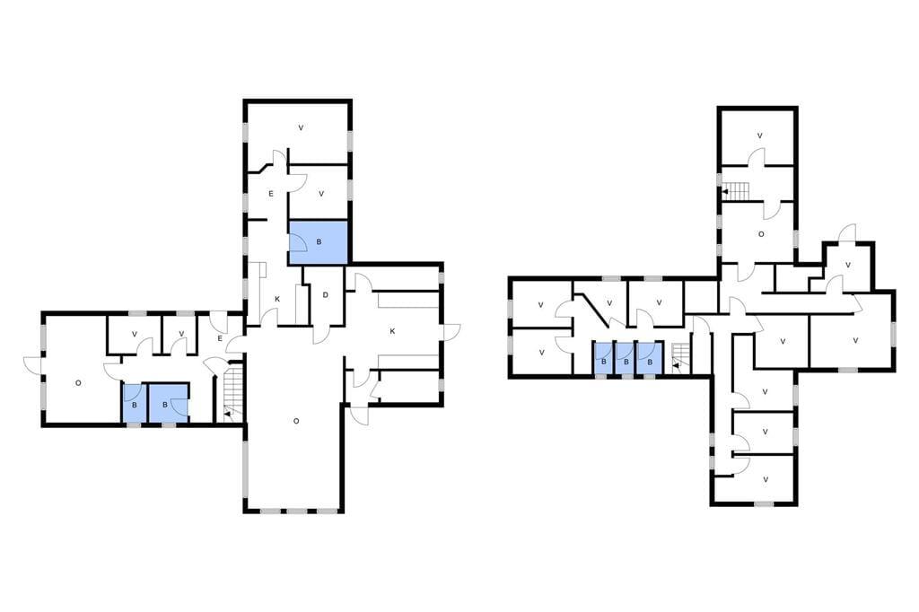 Indretning 1-3 Sommerhus L14050, Jungetgårdvej 9, DK - 7870 Roslev