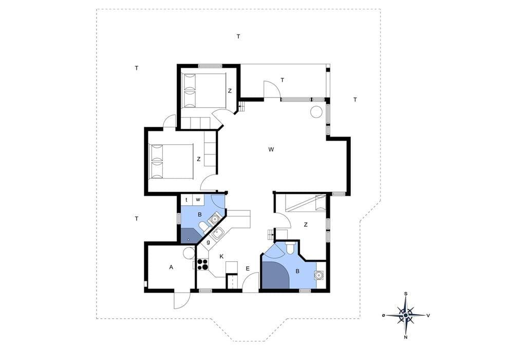 Innenausstattung 1-172 Ferienhaus JB424, Krogen 44, DK - 9460 Brovst