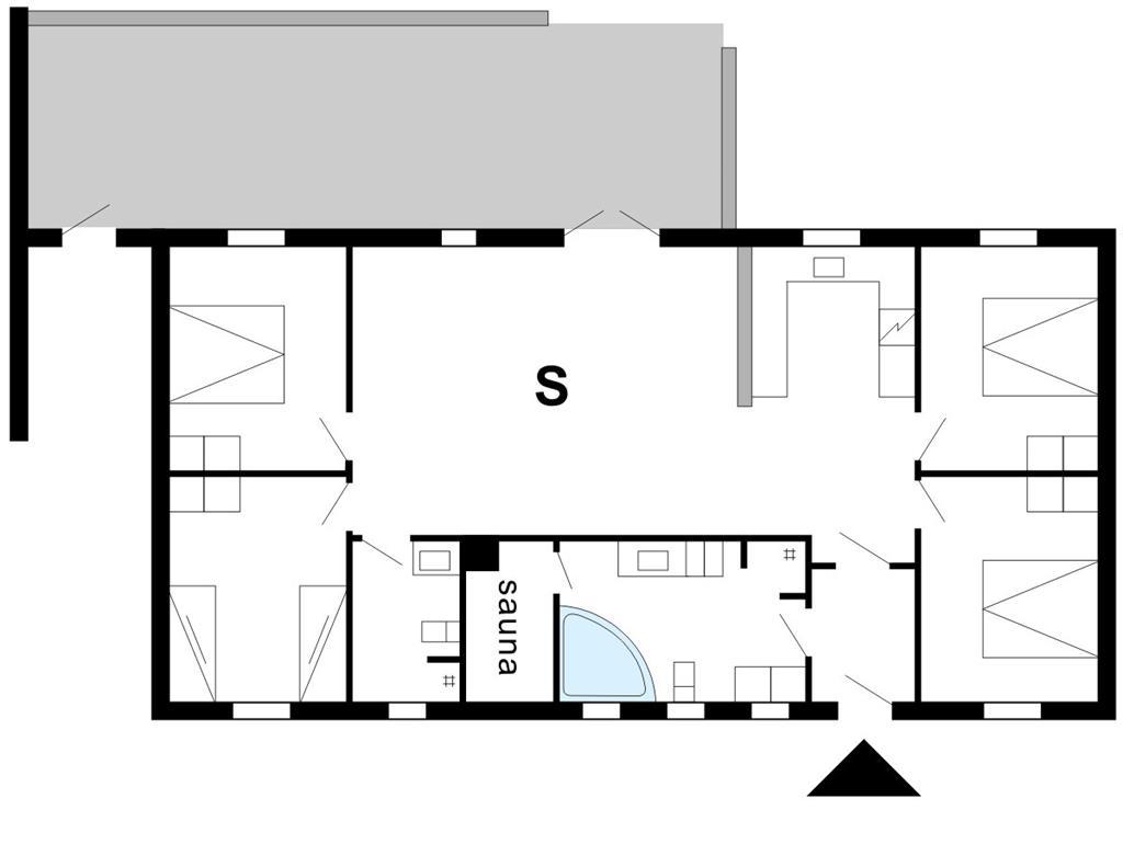 Innredning 1-175 Feirehus 40754, Helmklit 323, DK - 6990 Ulfborg