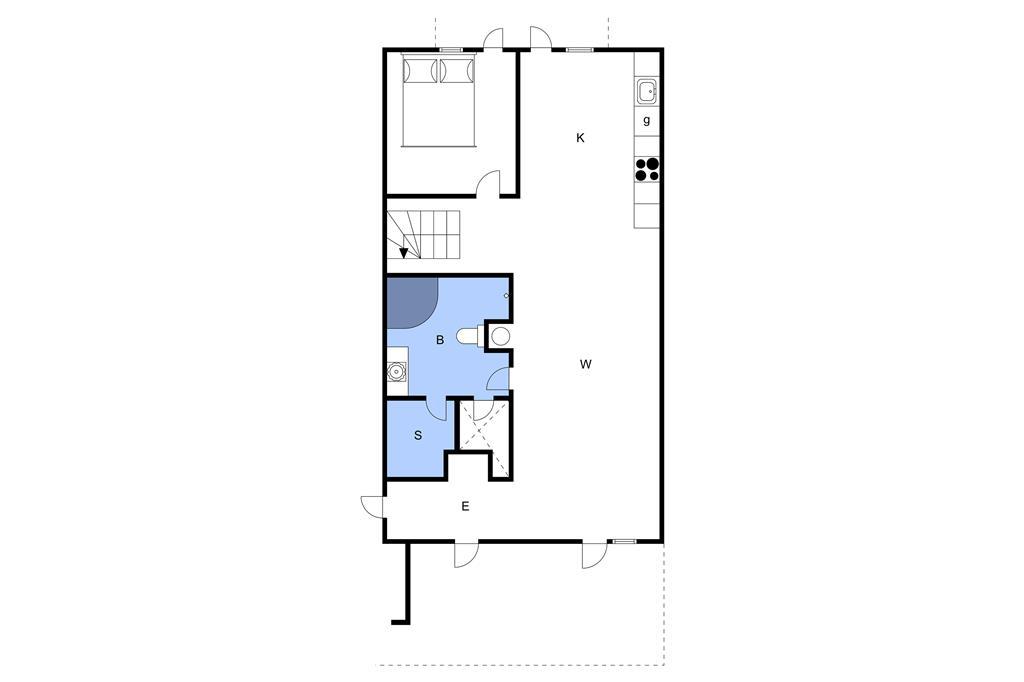 Innenausstattung 1-3 Ferienhaus M67310, Færgevej 3, DK - 5935 Bagenkop