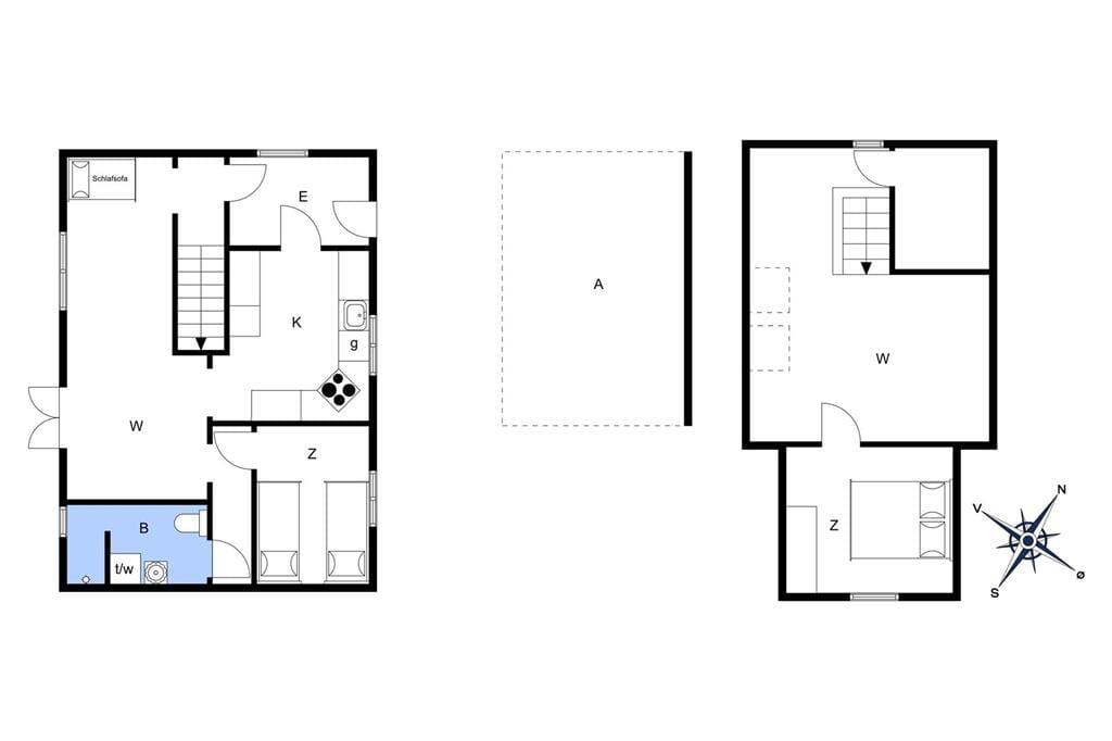 Indretning 1-3 Sommerhus L10359, Korshøjvej 3, DK - 7760 Hurup