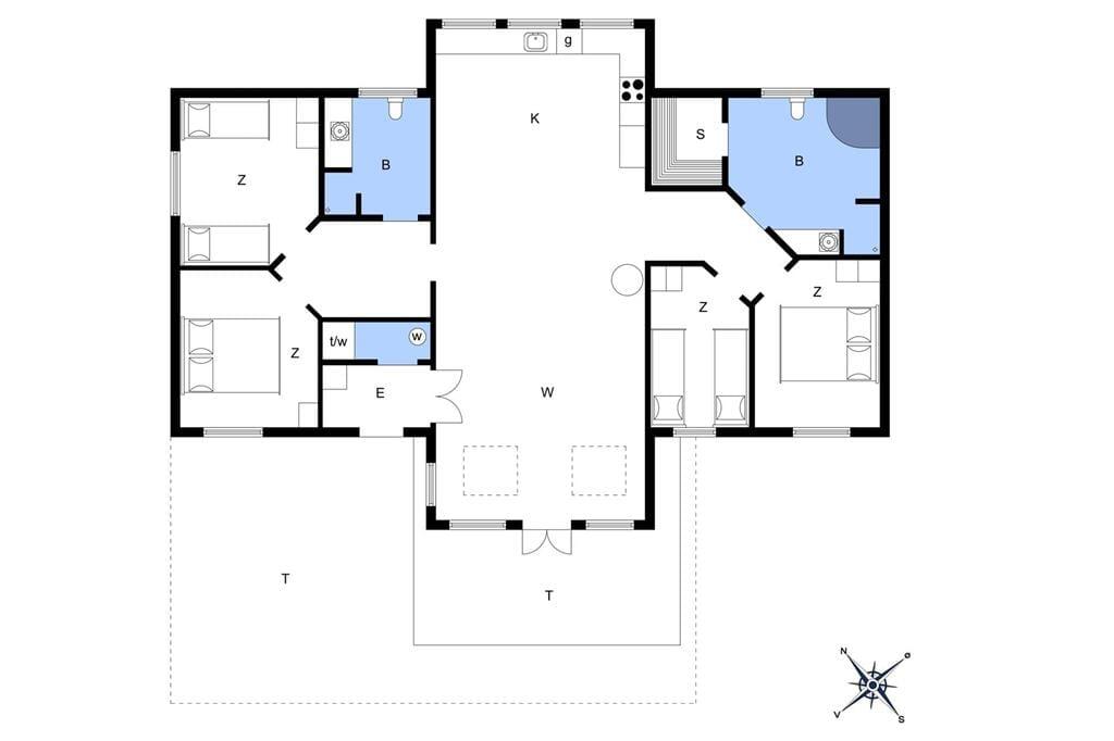 Interior 1-22 Holiday-home C11068, Vibevænget 11, DK - 6893 Hemmet