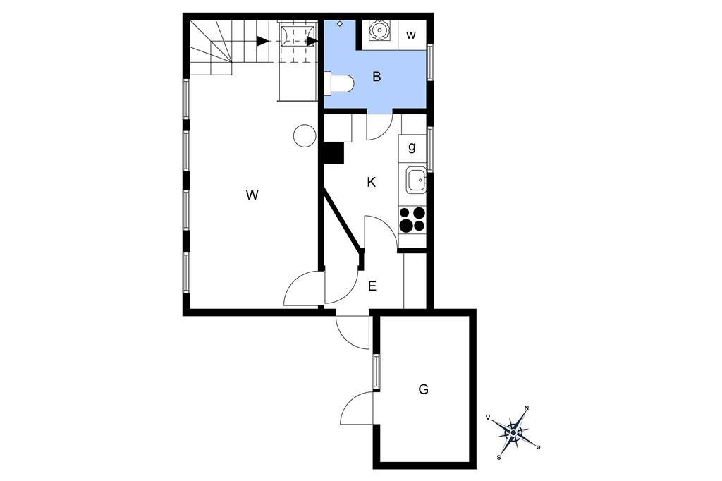 Interieur 1-15 Vakantiehuis 4006, Nyord Bygade 6, DK - 4780 Stege