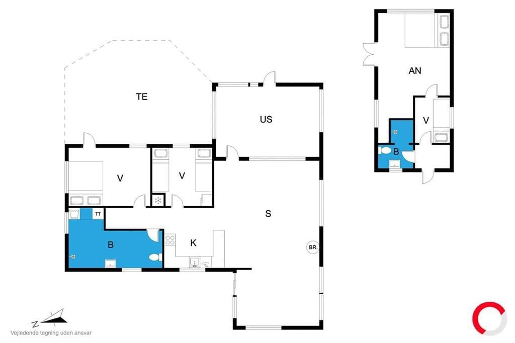 Indretning 1-23 Sommerhus 8547, Agnetevej 11, DK - 8500 Grenaa