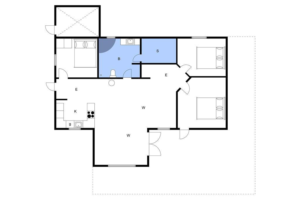 Interieur 1-3 Vakantiehuis F50365, Vinkelbæk 27, DK - 6430 Nordborg