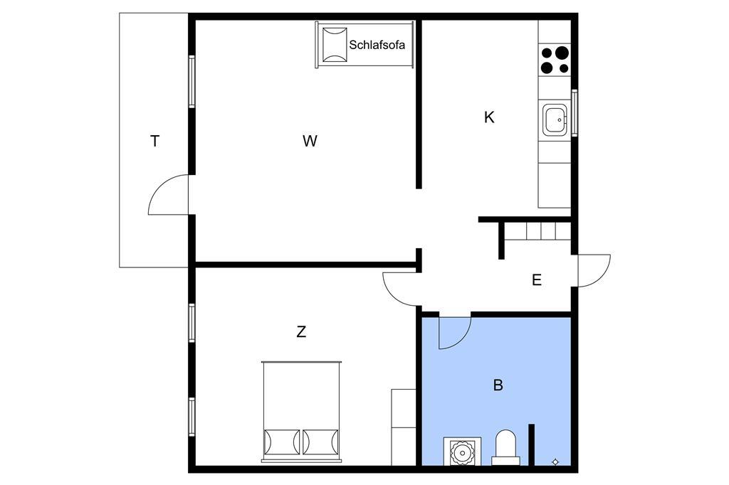 Interieur 1-3 Vakantiehuis M65702, Svanningevej 36, DK - 5600 Faaborg