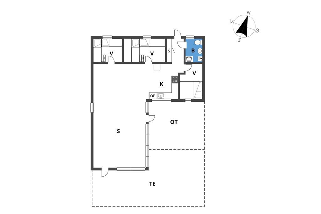 Indretning 1-19 Sommerhus 30440, Sandmarken 5, DK - 8300 Odder