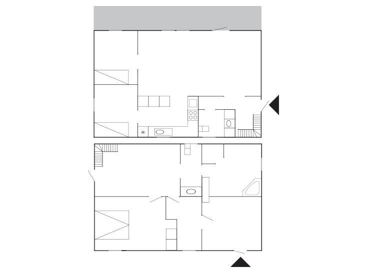 Indretning 1-175 Sommerhus 70794, Skolegade 17, DK - 6990 Ulfborg