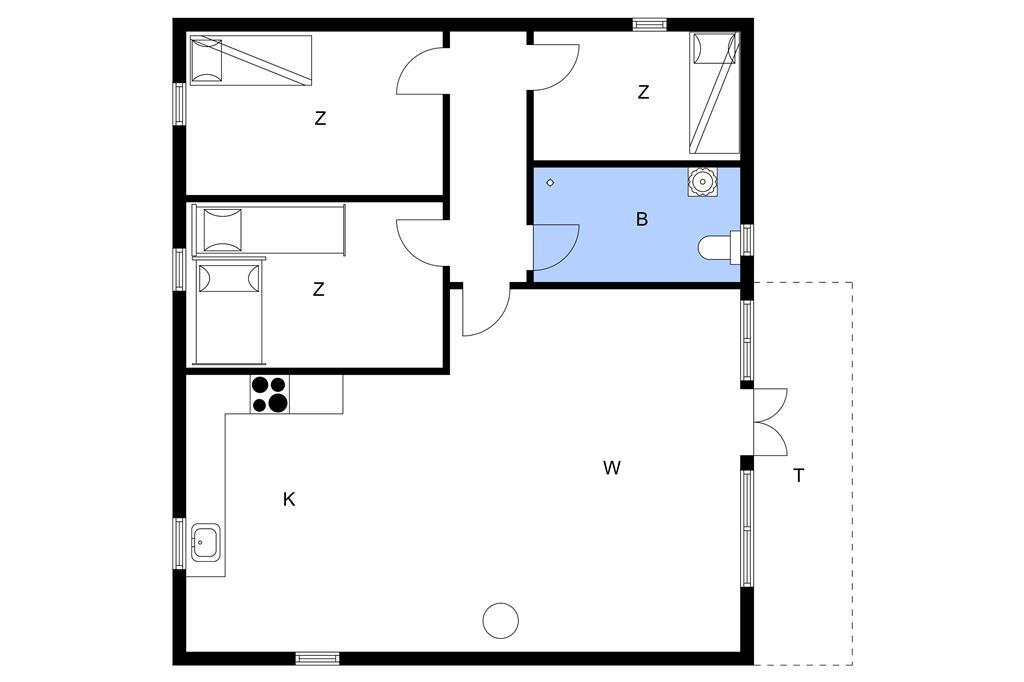 Innenausstattung 1-11 Ferienhaus 0360, Stormengevej 18, DK - 6792 Rømø