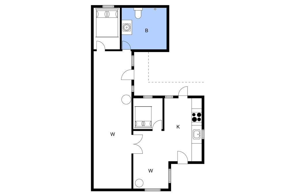 Interieur 1-3 Vakantiehuis M645586, Slusevej 4, DK - 5450 Otterup