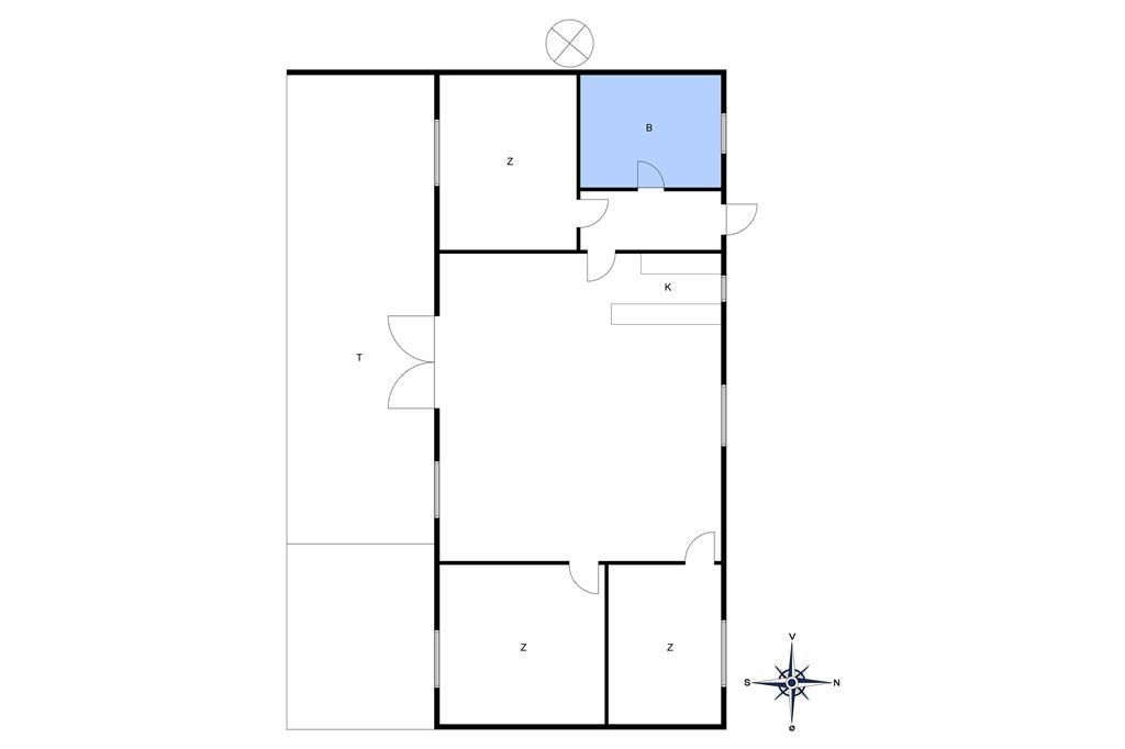 Indretning 1-10 Sommerhus 3507, Myrevej 17, DK - 3730 Nexø
