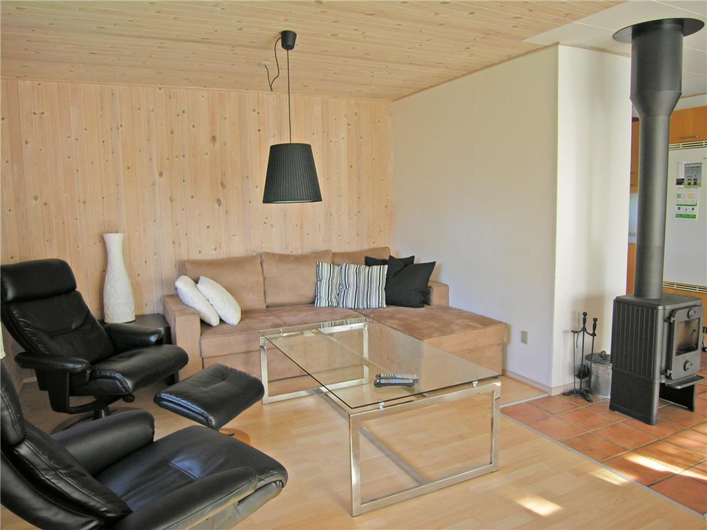 Foto Woonkamer Vakantiehuis nr. OD30416 in Odder, Saksild Strand Denemarken