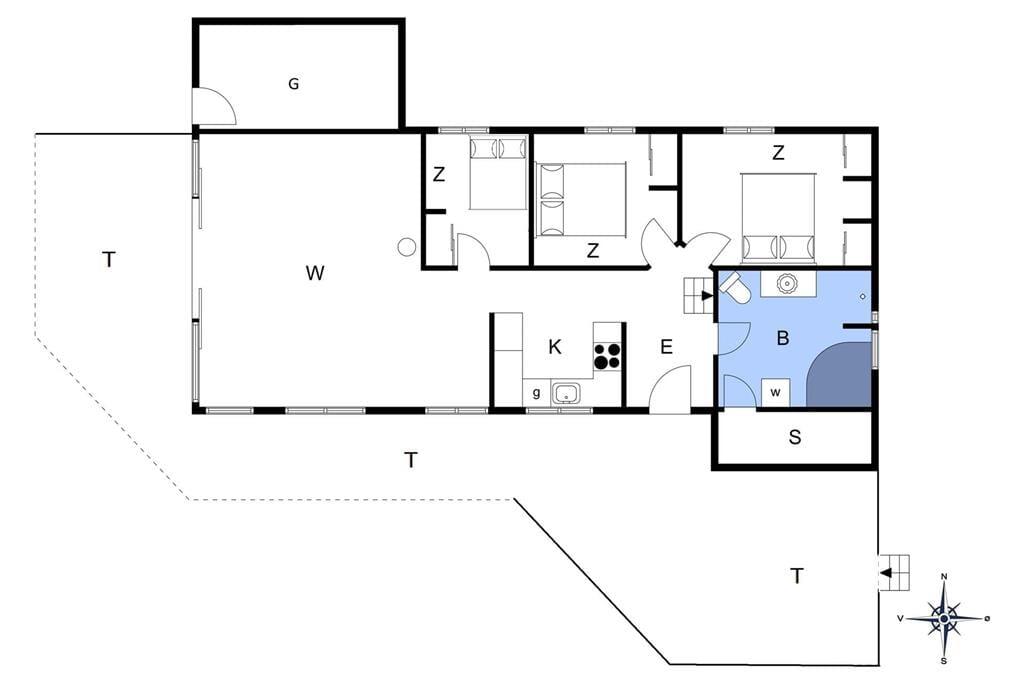 Innenausstattung 1-13 Ferienhaus 627, Ingeborgs Alle 26, DK - 7770 Vestervig