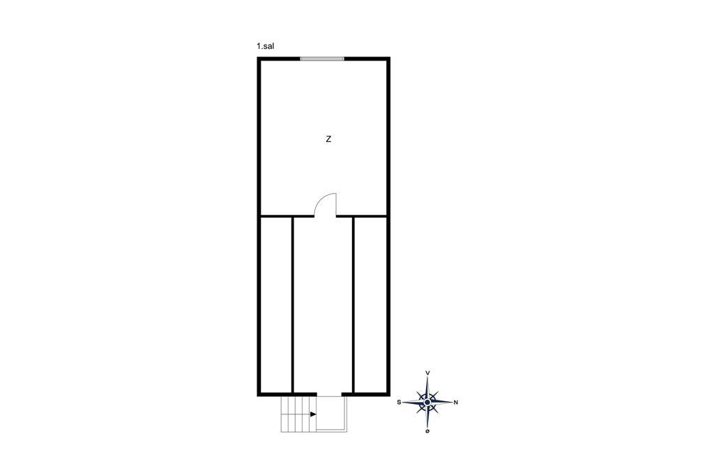 Innredning 1-10 Feirehus 4730, Boderne 6, DK - 3720 Aakirkeby