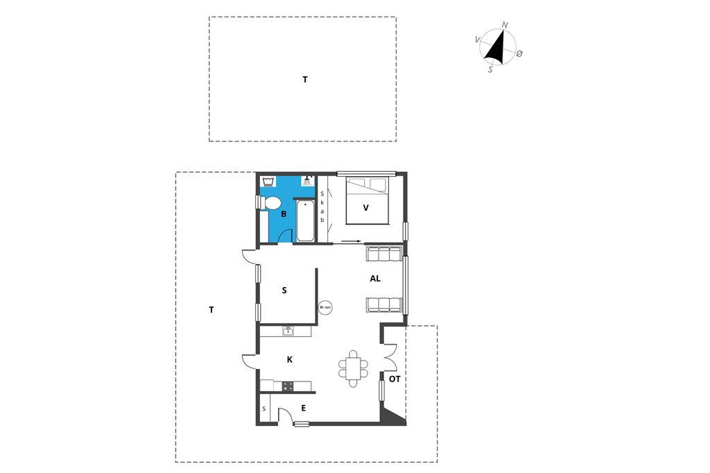 Interior 1-19 Holiday-home 40305, Borgkolonien 1, DK - 7130 Juelsminde