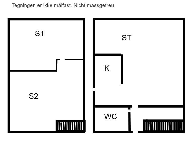 Indretning 1-15 Sommerhus 8200, Masnedøvej 66, DK - 4760 Vordingborg