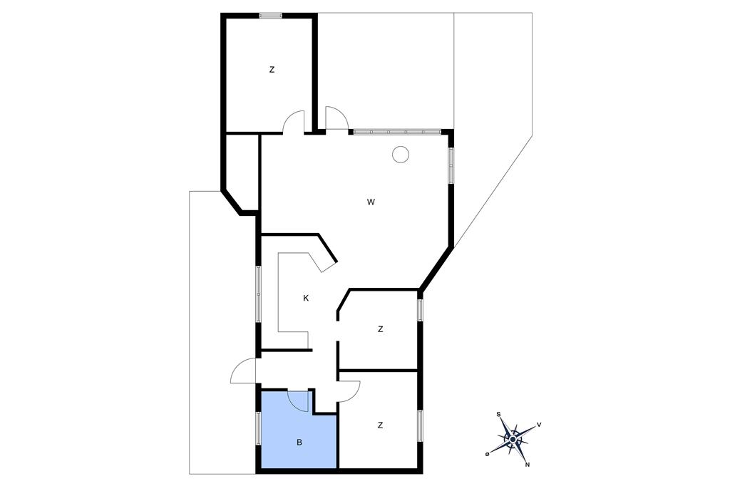 Innenausstattung 1-10 Ferienhaus 6710, Skovkanten 36, DK - 3790 Hasle