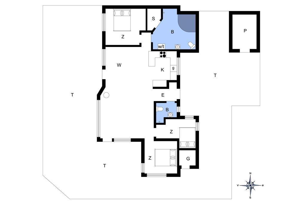 Interieur 1-148 Vakantiehuis TV1358, Grævlingevej 38, DK - 9982 Ålbæk