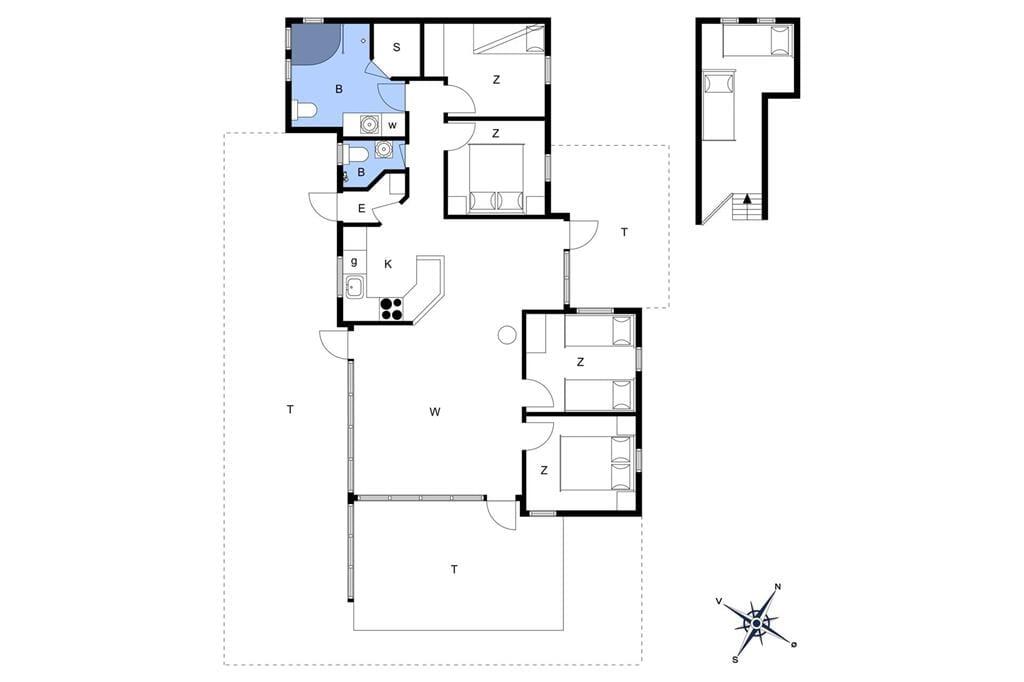 Interior 1-17 Holiday-home 13392, Herlufholmsvej 13, DK - 4573 Højby