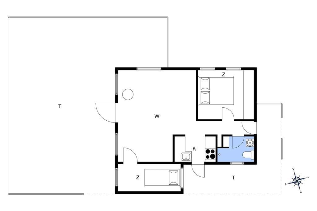 Interieur 1-176 Vakantiehuis BL1710, Paa Bakken 1, DK - 9492 Blokhus